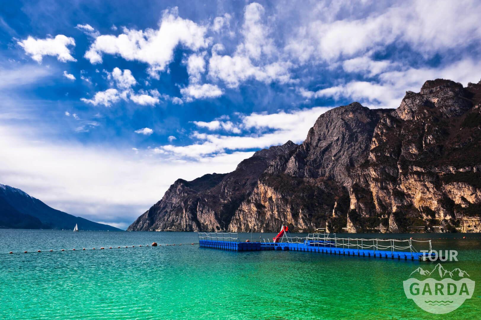 озеро в Италии Гарда